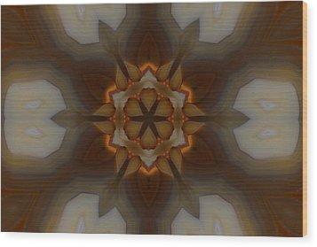 Milky Way Wood Print by Chad Wasden