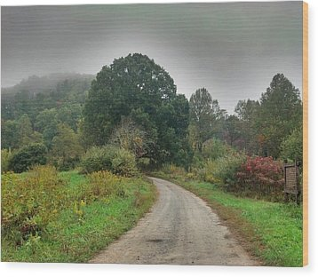 Wood Print featuring the photograph Mills Ridge by Janice Spivey