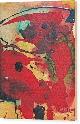 Mindscape 1 Wood Print by Ana Maria Edulescu