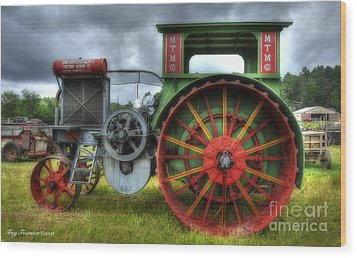 Wood Print featuring the photograph Minneapolis Threshing Machine Co. by Trey Foerster