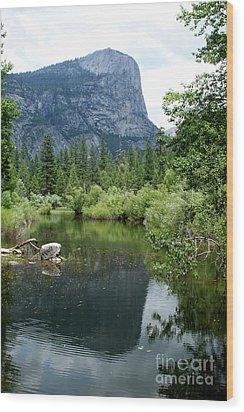 Mirror Lake Wood Print by Henrik Lehnerer