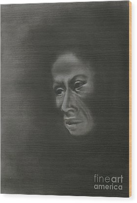 Misery Wood Print by Annemeet Hasidi- van der Leij
