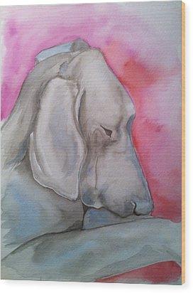 Miss Zoe Wood Print