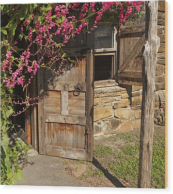 Wood Print featuring the photograph Mission San Jose 3 by Susan Rovira