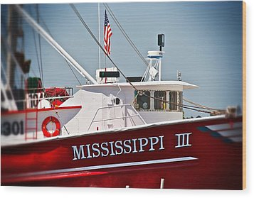 Mississippi IIi Wood Print by Jim Albritton
