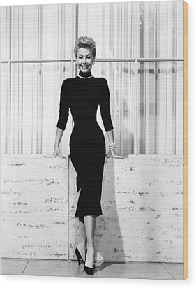 Mitzi Gaynor, Ca. 1950s Wood Print by Everett
