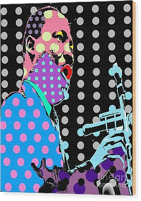 MLK Wood Print by Ricky Sencion