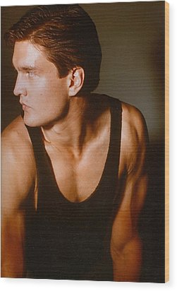 Model Robert Sorensen No. 15 Wood Print