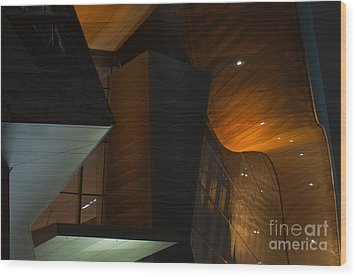 Wood Print featuring the photograph Modern Abstract by Andrew  Michael