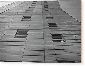 Modern Building Chelsea Nyc 4 Wood Print by Robert Ullmann