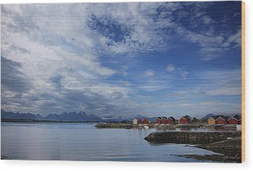 Molde Wood Print by Chad Bromley