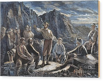 Molly Maguires, 1874 Wood Print by Granger