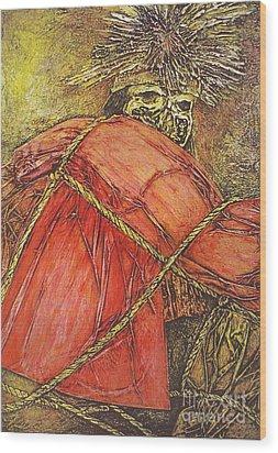 Momia Chiribaya Wood Print by Pamela Iris Harden