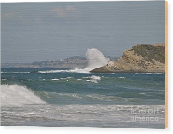 Wood Print featuring the photograph Monarch Wave by Johanne Peale