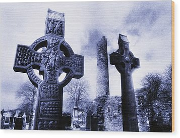 Monasterboice, Co Louth, Ireland Wood Print by The Irish Image Collection