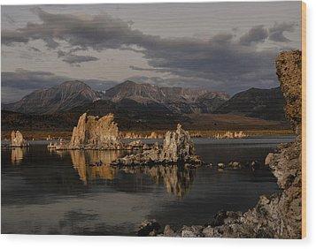 Mono Lake At Sunrise Wood Print