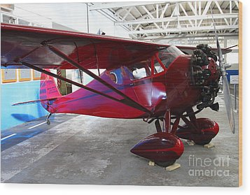 Monocoupe 110 . 7d11144 Wood Print by Wingsdomain Art and Photography