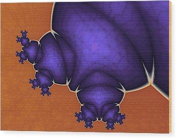 Monstrous Wood Print by Mark Eggleston