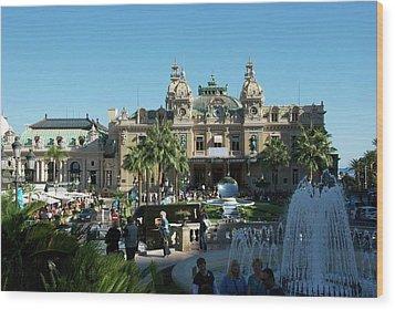 Monte Carlo Wood Print