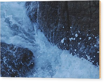 Monterey Ca Wood Print