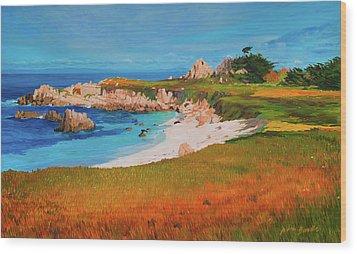 Monterey Peninsula Wood Print