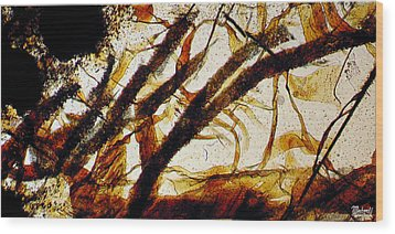 Monterrey Bay Wood Print