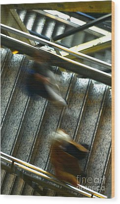 Wood Print featuring the photograph Montparnasse Station by Danica Radman