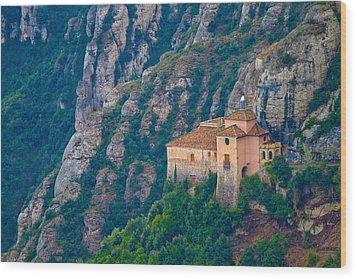 Montserrat Wood Print by Albert Tan photo