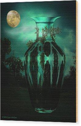 Moonglow Wood Print by Joyce Dickens