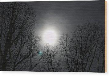 Moonlight Carolina Wood Print