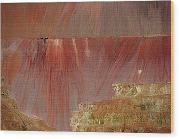 Wood Print featuring the photograph Morenci Mine by Vicki Pelham