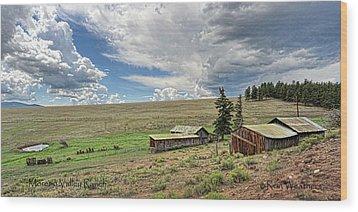 Moreno Valley Ranch Wood Print