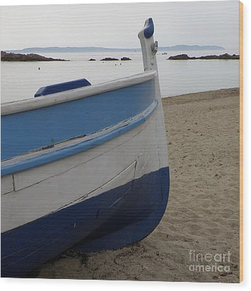 Wood Print featuring the photograph Morning Seascape by Lainie Wrightson