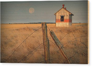 Mornings Calm Wood Print by Al  Swasey