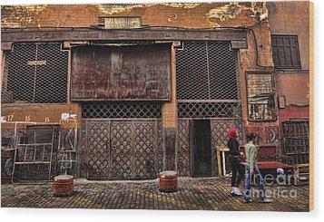 Morocco Life I Wood Print by Chuck Kuhn