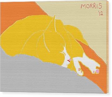Morris Wood Print by Anita Dale Livaditis