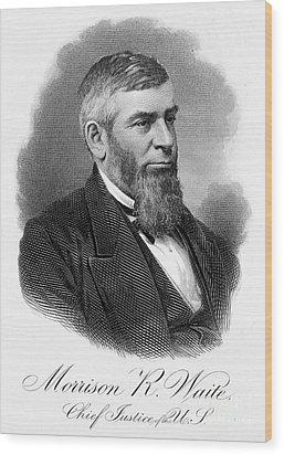 Morrison R. Waite (1816-1888) Wood Print by Granger