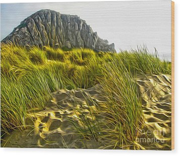 Morro Bay  Wood Print by Gregory Dyer