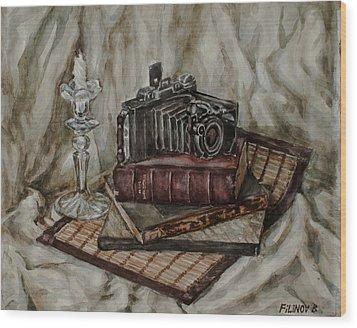 Moscow-2 Camera Wood Print by Boris Filinov