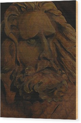 Moses Wood Print by Sherry Robinson