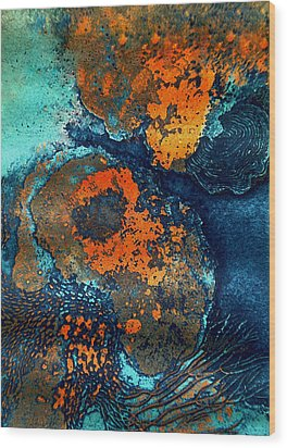 Mother Earth Nature Wood Print by Colette V Hera  Guggenheim