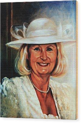 Mother Of The Bride Wood Print by Hanne Lore Koehler