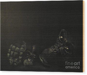 Motherhood Wood Print by Annemeet Hasidi- van der Leij