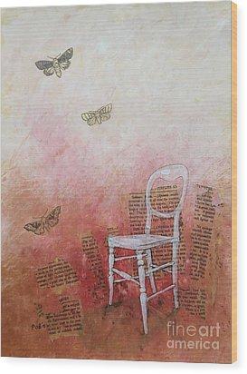 Moths Wood Print by Paul OBrien