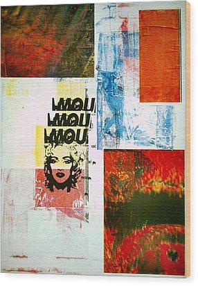 MOU Wood Print by David Deak