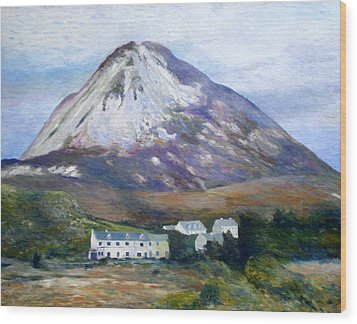 Mount Errigal Co. Donegal Ireland 1997 Wood Print by Enver Larney