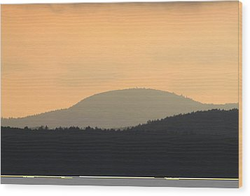 Mount Grace Warwick Ma Wood Print by John Burk