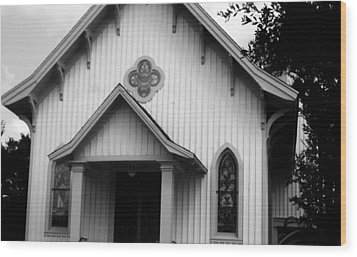 Mount Olivet Church Wood Print