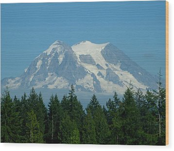 Mount Rainier 5 Wood Print