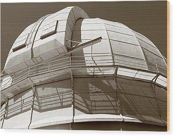 Mount Wilson Observatory Wood Print by Lorraine Devon Wilke
